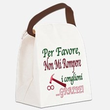 italian saying.png Canvas Lunch Bag
