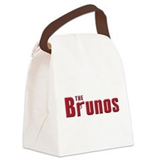 bruno.white.png Canvas Lunch Bag