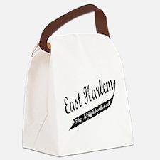 east harlem front.png Canvas Lunch Bag