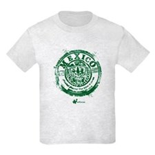 Mexico Stamp Kids T-Shirt