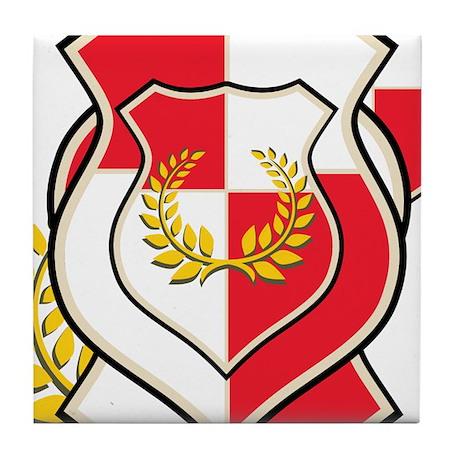OYOOS Crest design Tile Coaster