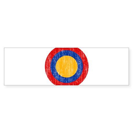 Armenia Roundel Aged.png Sticker (Bumper)