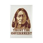 Trust Government Sitting Bull Rectangle Magnet (10