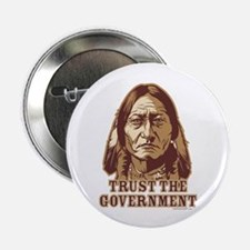 "Trust Government Sitting Bull 2.25"" Button (10 pac"