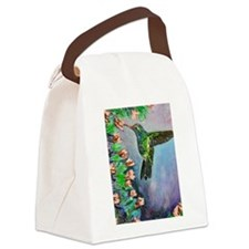 Beauty in Flight Canvas Lunch Bag