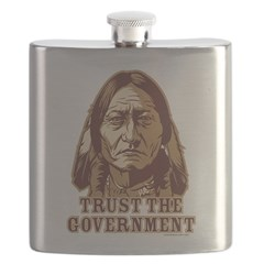 Trust Government Sitting Bull Flask