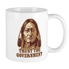 Trust Government Sitting Bull Mug
