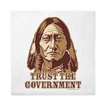 Trust Government Sitting Bull Queen Duvet
