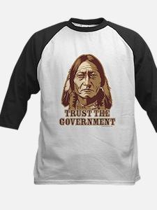 Trust Government Sitting Bull Kids Baseball Jersey
