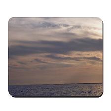 Ocean Sky at Dusk Mousepad