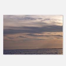 Ocean Sky at Dusk Postcards (Package of 8)