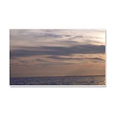 Ocean Sky at Dusk Car Magnet 20 x 12