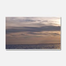 Ocean Sky at Dusk Car Magnet 20 x 12