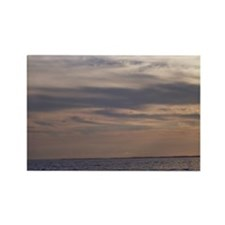 Ocean Sky at Dusk Rectangle Magnet