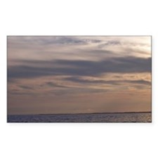 Ocean Sky at Dusk Decal