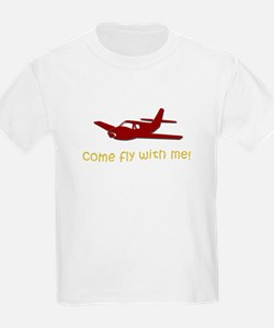 Come Fly with Me Kids T-Shirt