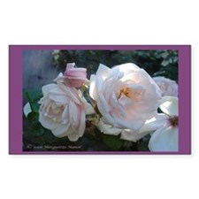 Perfect Roses Rectangle Decal