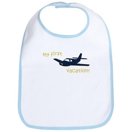 My First Vacation (plane) Bib