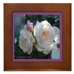 Perfect Roses Framed Tile