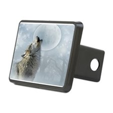 Wolf Blue Moon Hitch Cover