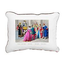 Costumes-1550 Rectangular Canvas Pillow