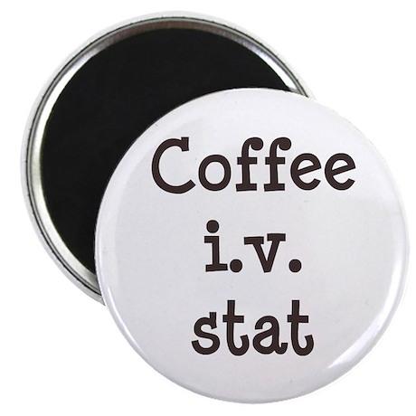 Coffee IV Stat Magnet