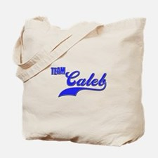 Team Caleb Tote Bag