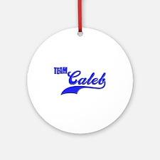 Team Caleb Ornament (Round)