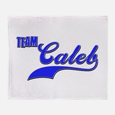 Team Caleb Throw Blanket