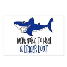 Bigger Boat Postcards (Package of 8)
