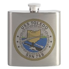 US Navy USS Toledo SSN 769.png Flask