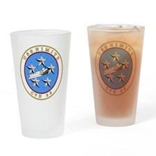 US Navy USS Nimitz CVN 68.png Drinking Glass