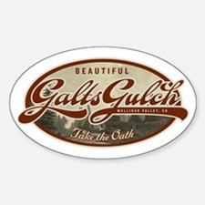 Galts Gulch Sticker (Oval 10 pk)