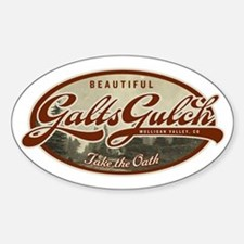 Galts Gulch Sticker (Oval)