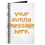 four line funny message Journal
