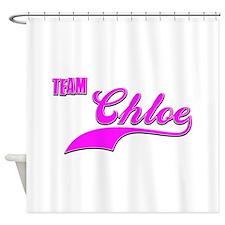 Team Chloe Shower Curtain