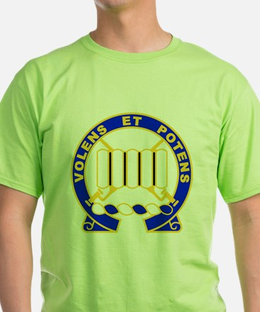 USA 7th Infantry Regiment Decal T-Shirt