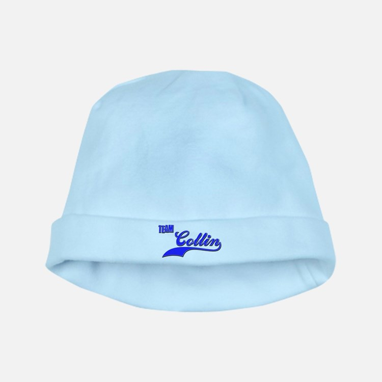 Team Collin baby hat