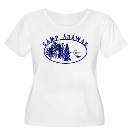 Camp Arawak Women's Plus Size Scoop Neck T-Shirt