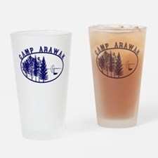 Camp Arawak Drinking Glass