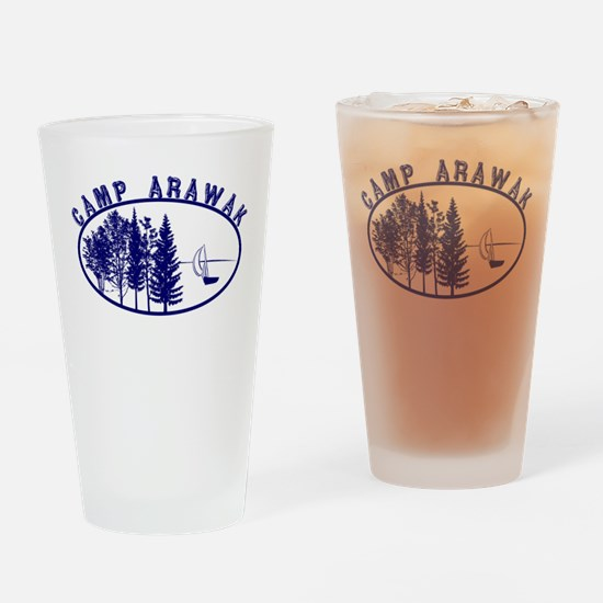 Camp Arawak Drinking Glass