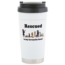 Favourite Breed Stainless Steel Travel Mug