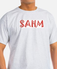 SAHM Ash Grey T-Shirt