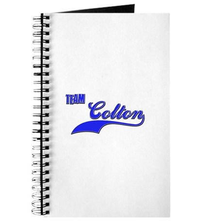 Team Colton Journal