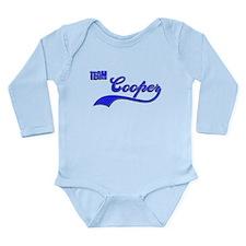 Team Cooper Long Sleeve Infant Bodysuit