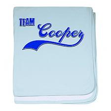 Team Cooper baby blanket