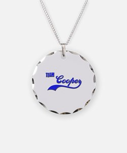 Team Cooper Necklace Circle Charm