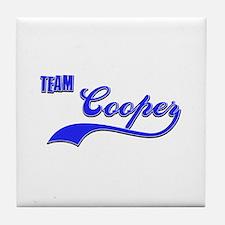 Team Cooper Tile Coaster