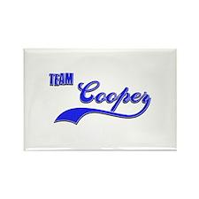 Team Cooper Rectangle Magnet