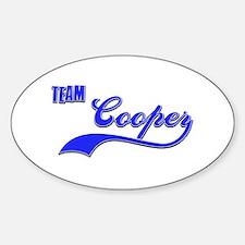 Team Cooper Decal